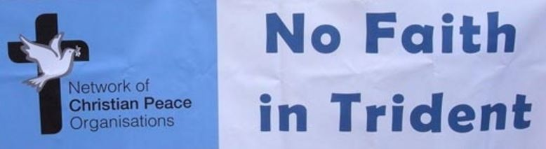 NCPO No faith in Trident banner